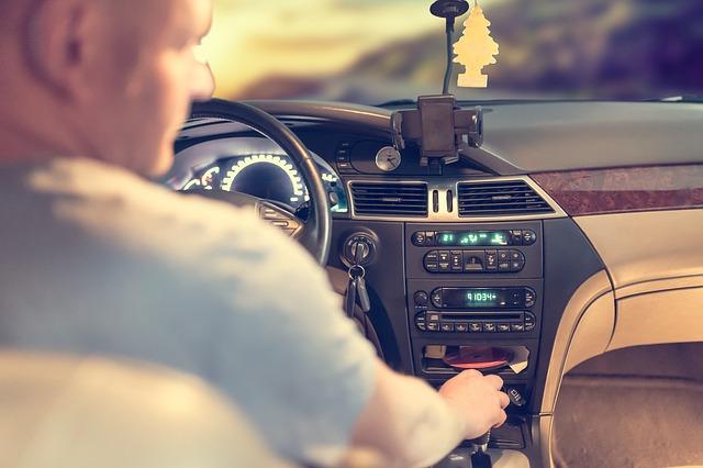 řidič vozu