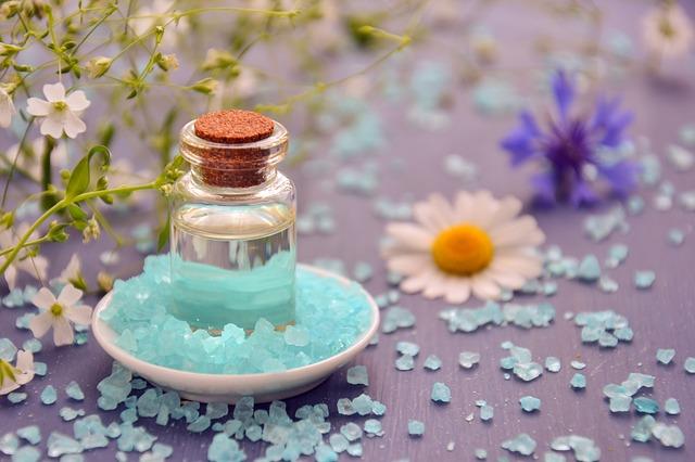 olejíček a krystaly