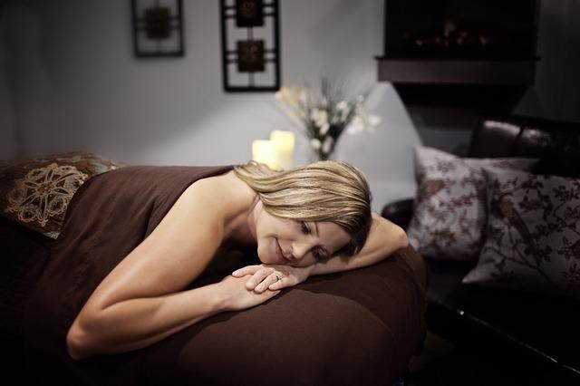 relaxace po masáži