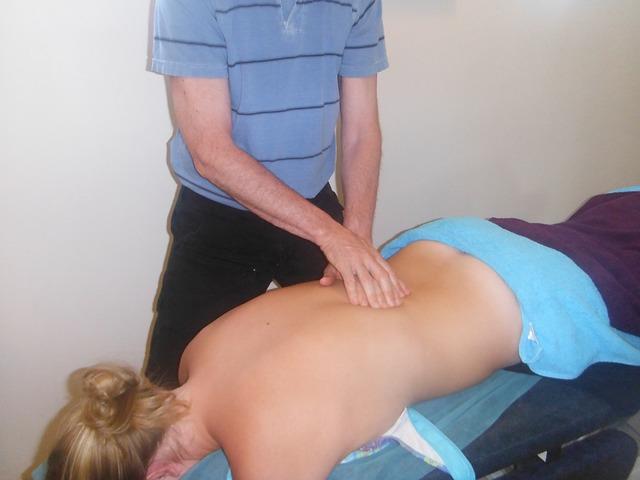 amatérská masáž