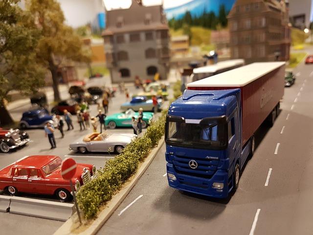 kamion miniatura