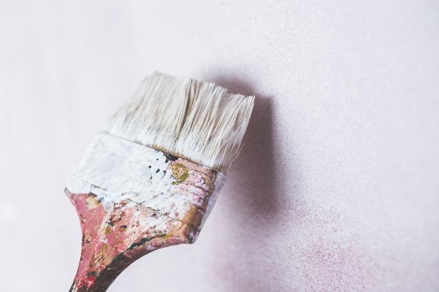 malířská štětka, malovat